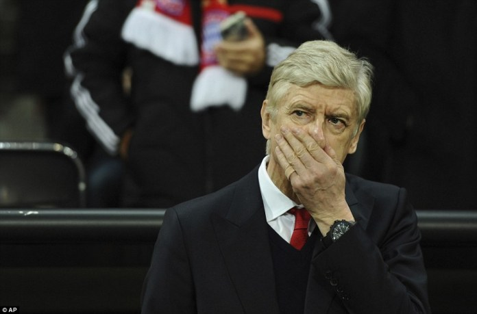 Wenger witnessed his team fall significantly short of Carlo Ancelotti's side at the Allianz Arena on Wednesday night
