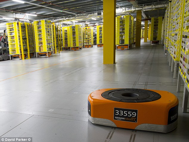 Amazon's nine distribution centres in England and Wales will pay £148,000 less in the coming financial year, since they are mostly located in areas where property prices are low
