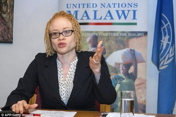 UN independent expert Ikponwosa Ero warned that Albinos could eventually become extinct in East Africa