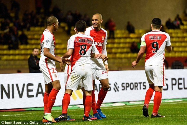 Monaco have scored 107 goals in all competitions this term - more than anyone in Europe