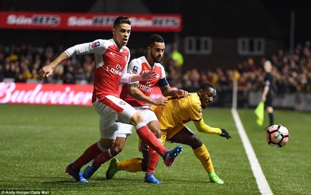 Arsenal yongeye gushimisha abakunzi bayo