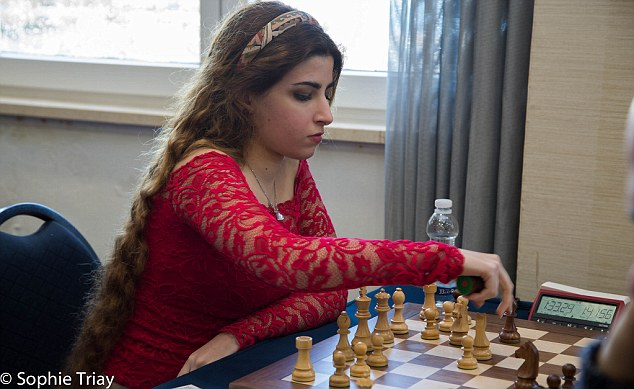 Iran bans international chess siblings from competing  Daily Mail Online