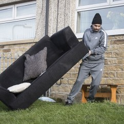 Bradford Council Sofa Removal Red Leather Sectional Shipley Mother Of Four Wins 14m Euromillions Jackpot Daily Mail Neighbours Were Seen Carrying A Out The Home In Near