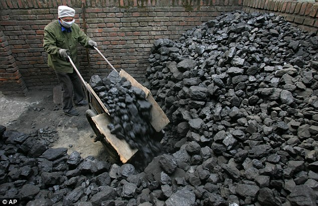 Pyongyang issued a rare reproach of Beijing, its main diplomatic backer, for halting imports of its coal (file picture)