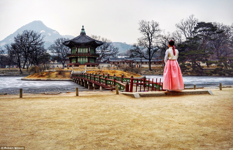 The search to find someone to fulfil the Instagram 'Intern-Ship' was launched by Royal Caribbean in January. This image of a peaceful temple in Seoul was one of the shortlisted entries