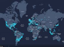 Map shows the countries struggling to sleep via tweets ...