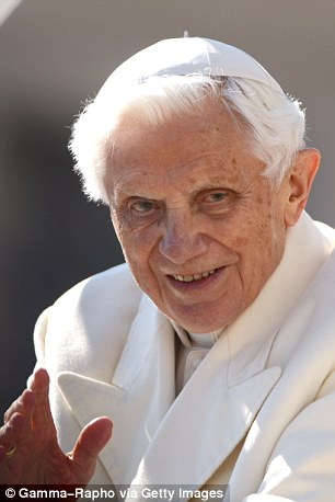 His predecessor Pope Benedict XVI defrocked 800 priests during his eight-year papacy
