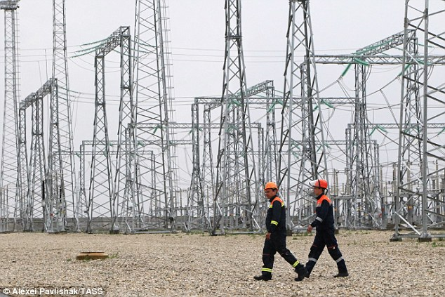 Image result for photos of us power grids and electric lines
