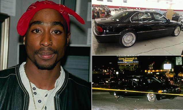 Image result for 2pac died 21 years ago after he was shot 6 times inside this car