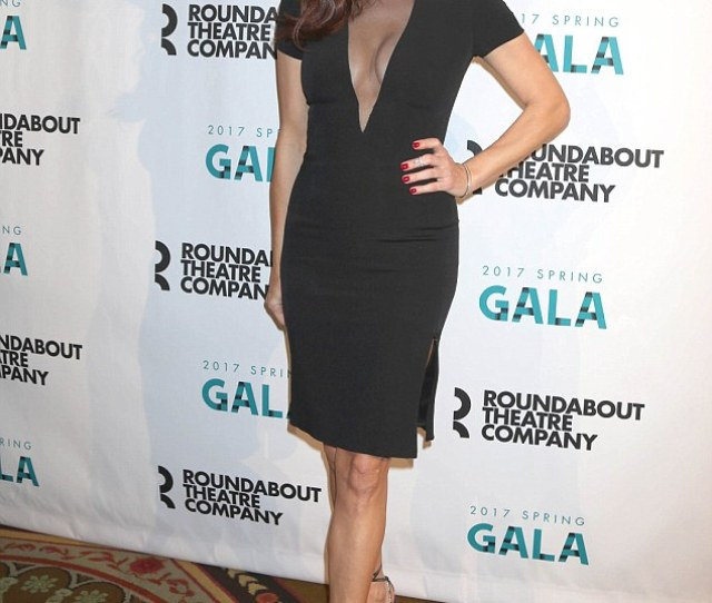 Revealing Kate Walsh Hit The Town In Nyc On Monday In A Sexy Lbd