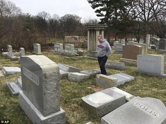 The bomb threats were the fifth wave of such threats this year that have stoked fears of a resurgence of anti-Semitism.Jewish groups, U.S. President Donald Trump and Israeli officials have all condemned the surge in disruptive intimidation and vandalism of Jewish cemeteries
