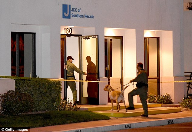 Jewish community centers and schools in at least 12 states reported getting bomb threats on Monday.The Las Vegas Metropolitan Police Department K-9 officers searched the Jewish Community Center of Southern Nevada after an employee received a suspicious phone call