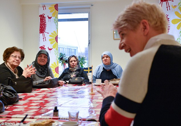 Katie visits the Rinkeby Church community centre where Rinkeby residents meet to pray and chat