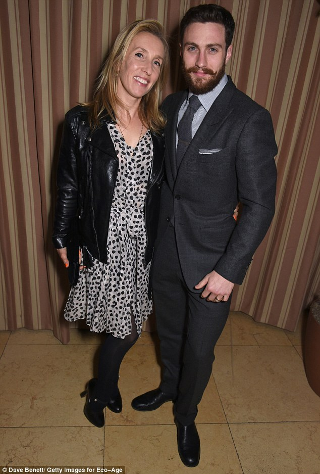 Aaron Taylor-Johnson, 26, wishes wife Sam a happy 50th ...