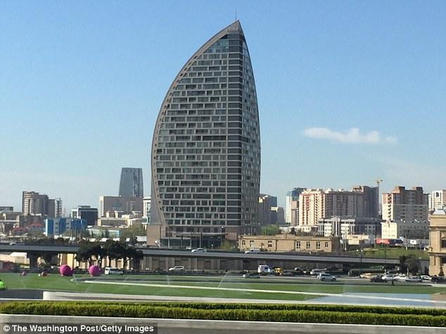 """""""Trump Tower"""" Baku ile ilgili görsel sonucu"""