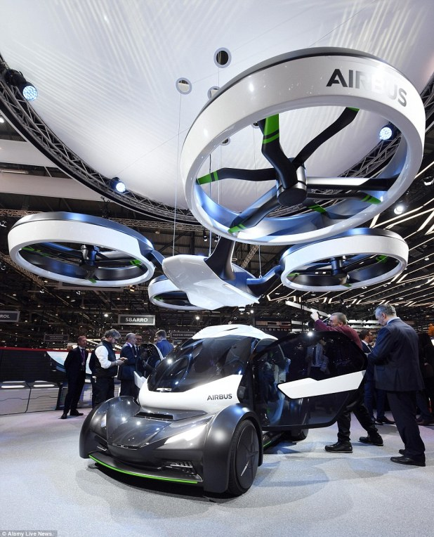 Airbus has unveiled a new concept that could put an end to traffic jams. Called Pop.Up, the modular system consist of a two-seater capsule that functions as a car or can be carried to the rider's destination by a vertical take-off and landing air vehicle when the roads are too congested