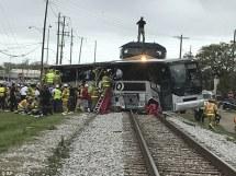 Image result for 50 die as bus swerves off steep slope in Kenya