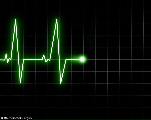 In one of the cases, single delta wave bursts persisted after the heart had stopped and the patient was clinically dead. The experiment raises difficult questions about when someone is dead and therefore when it is medically and ethically correct to use them for organ donation (stock image)