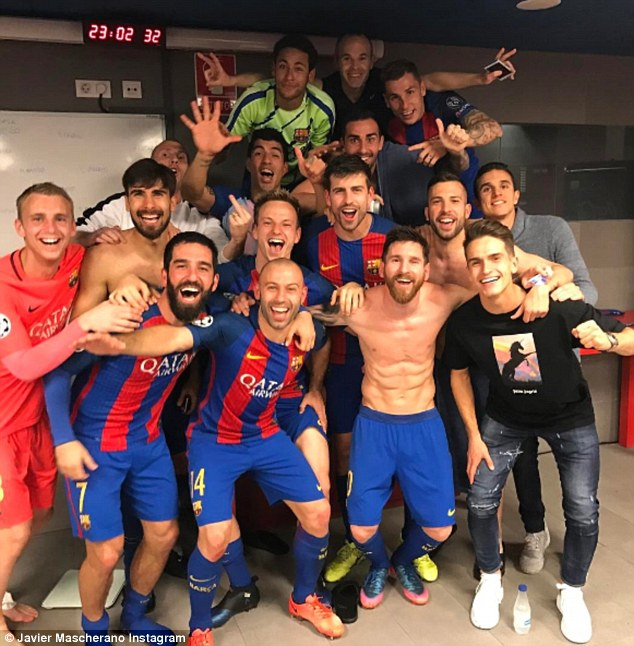 Barcelona are the first team to overturn a four-goal first-leg deficit in the Champions League