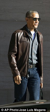 Handsome (did you see that cool leather jacket this week?)