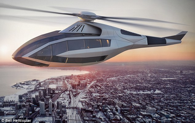 Aerospace manufacturer Bell Helicopter unveiled their rotorcraft concept at Heli-Expo in Dallas, Texas this week