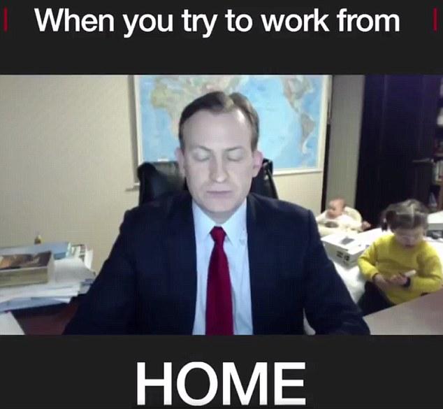 Professor Becomes Internet Meme Legend After BBC Interview