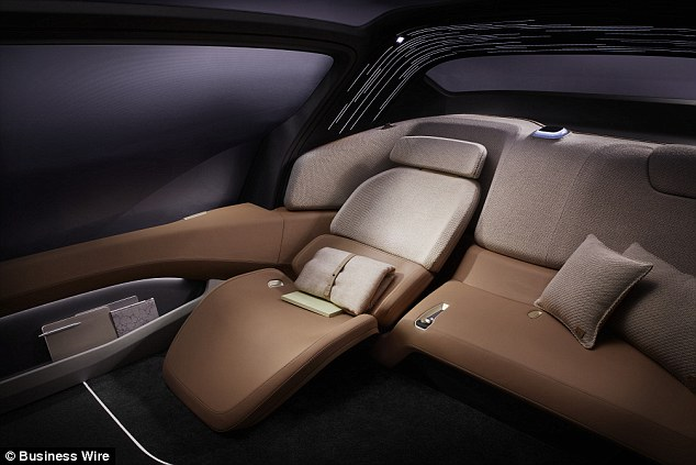 The rear seats can even recline to form a  bed for weary travellers