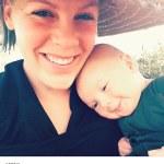 Aww, P!nk Shares Adorable Selfie With Son,Jameson