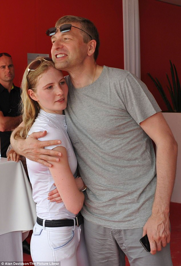 In 2008 Donald Trump found himself in deep financial trouble.Then, a buyer turned up for his Florida mansion in the shape of oligarch Dmitry Rybolovlev (pictured with daughter Ekaterin) , a former cardiologist who had secured the rights to Russia's vast potash fertiliser reserves