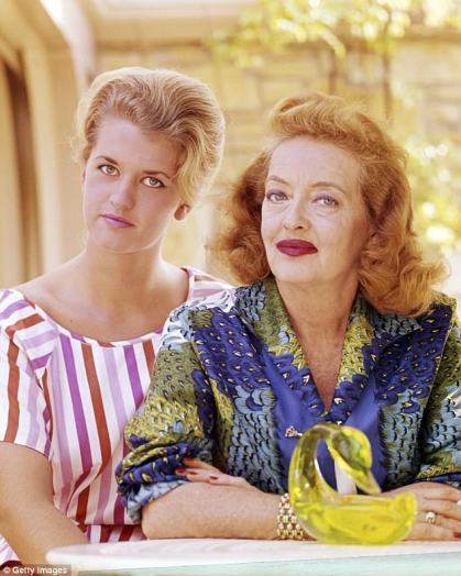 Image result for bette davis and daughter B.D.