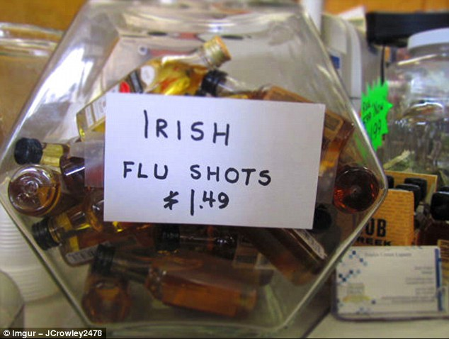 In Ireland, a hangover is sometimes referred to as a bout of the 'Irish flu' - and here is your medicine