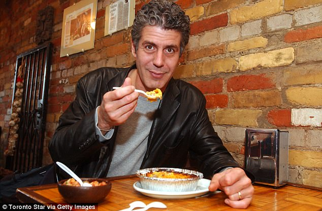 Anthony Bourdain reveals he had no savings until he was 44