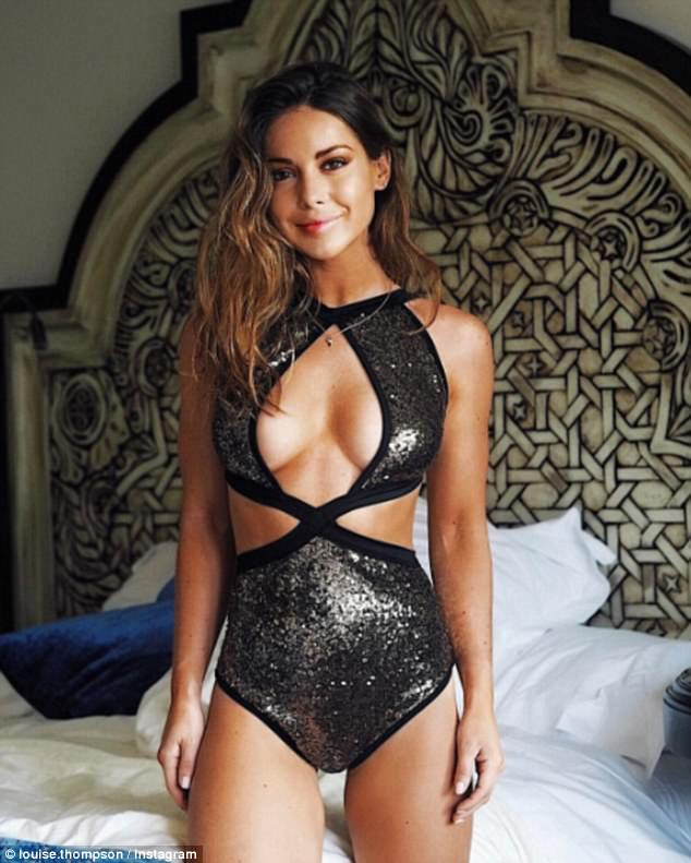 MICs Louise Thompson Flaunts Sun Kissed Body In Bikini