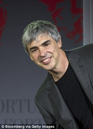 Larry Page speaks during the 2015 Fortune Global Forum in San Francisco