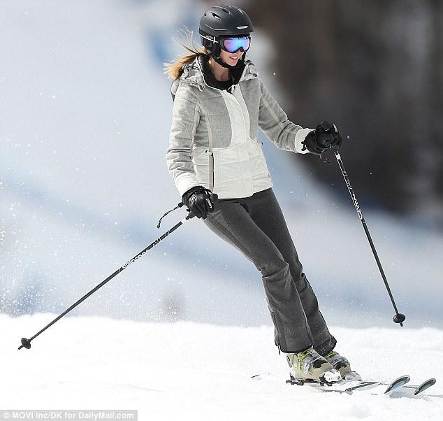 70news Ivana Trump Skiing