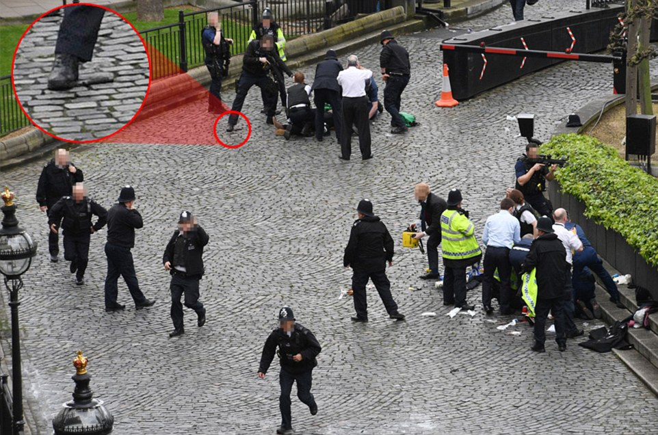 UPDATE: 2 killed after terror attack near UK parliament [PHOTOS]