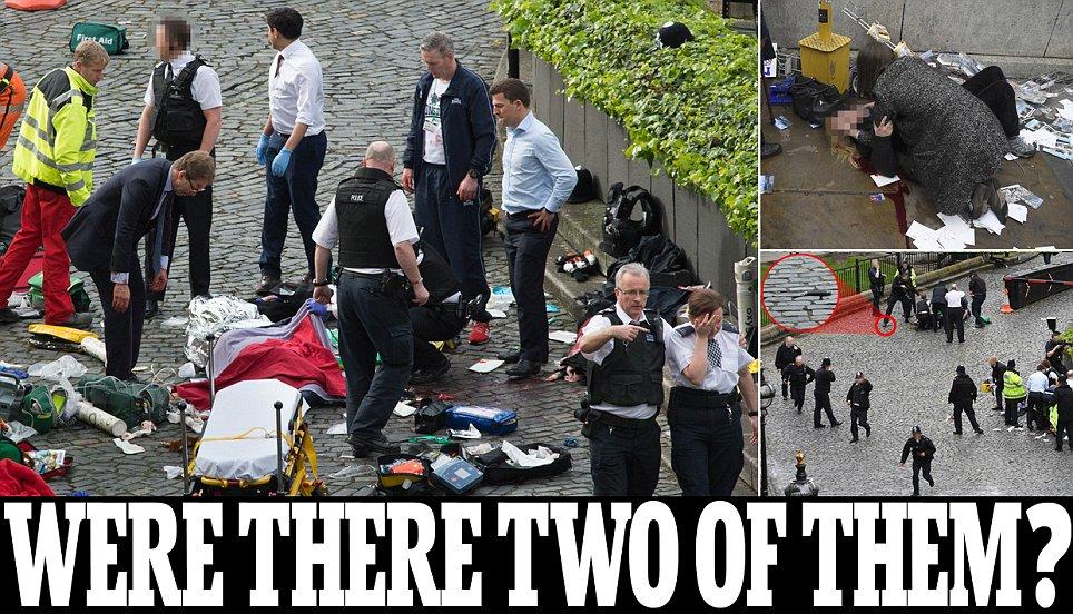 Parliament shooting: Man shot at Westminster bridge