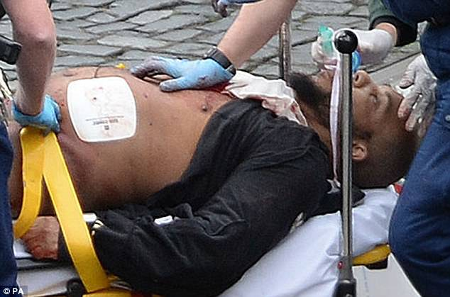 Terrorist Khalid Masood was shot by police in New Palace Yard outside the Houses of Parliament. He died in hospital