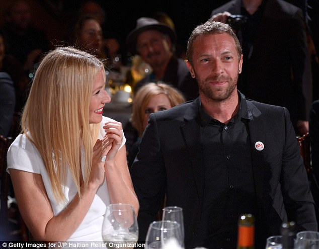 No secrets: Gwyneth (pictured with ex Chris Martin in 2014) is often open about her sex life