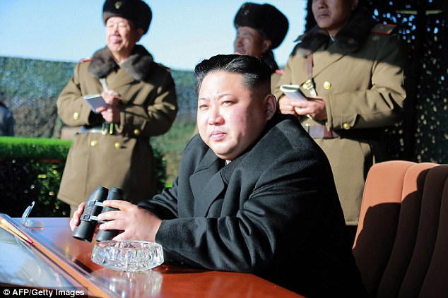 US prosecutors are building potential cases that would accuse North Korea of directing the theft of $81million from Bangladesh Bank's account at the Federal Reserve Bank of New York last year. North Korean ruler Kim Jong-Un is seen above in this December 2016 file photo