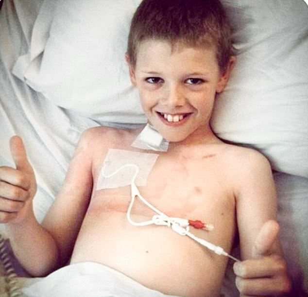 One in 7 Billion: Deryn Blackwell begins his hospital ordeal aged 10