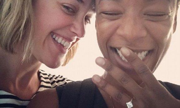 Samira Wiley marries writer Lauren Morelli in Palm Springs