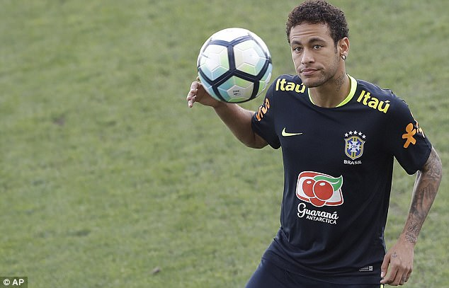 Neymar trails the top two, earning £47.9m, just under £20m less than team-mate Messi