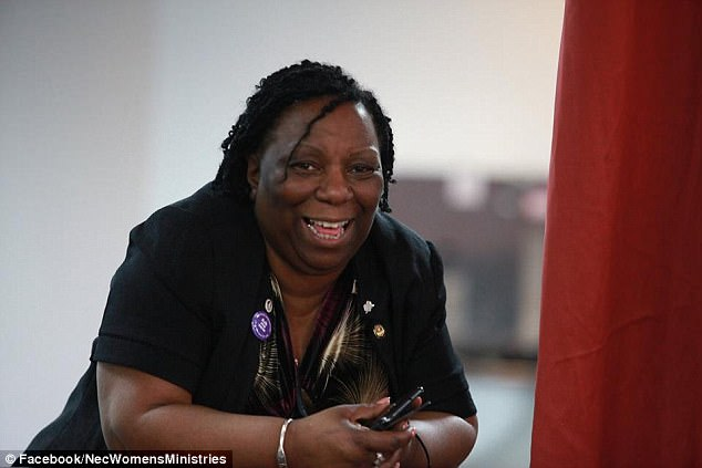 Maisie Gabriel-Allison (pictured) has been struck off after telling a colleague not to talk to white members of staff and bullying care home residents