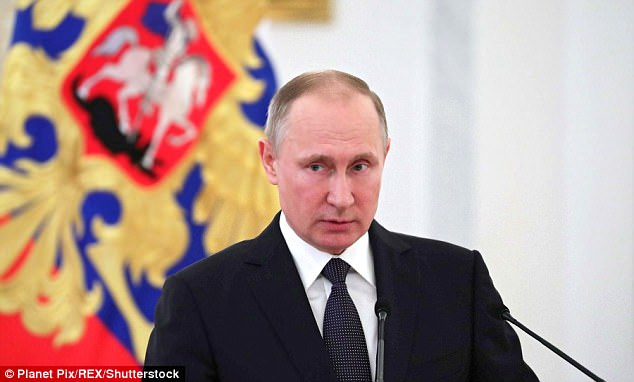 Vladimir Putin 'has designs on the Baltics. He wanted Crimea and he took it. And he is trying to undermine NATO,' Cheney warned