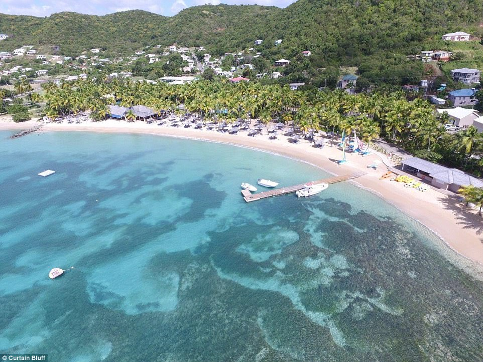 Antiguas Curtain Bluff hotel shown in unseen photos  Daily Mail Online