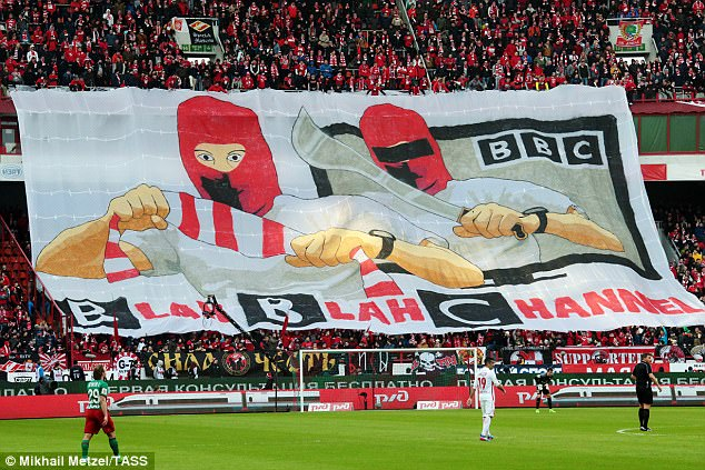 Spartak Moscow's fans have hit back at the BBC over a documentary on Russian hooliganism