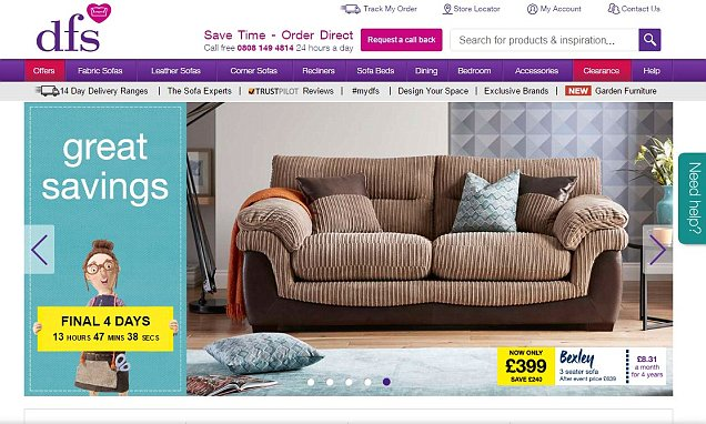 dfs metro sofa review reclaimed wood tempered glass console shelf table breaks 1bn sales mark for the first time in 47 years this is money