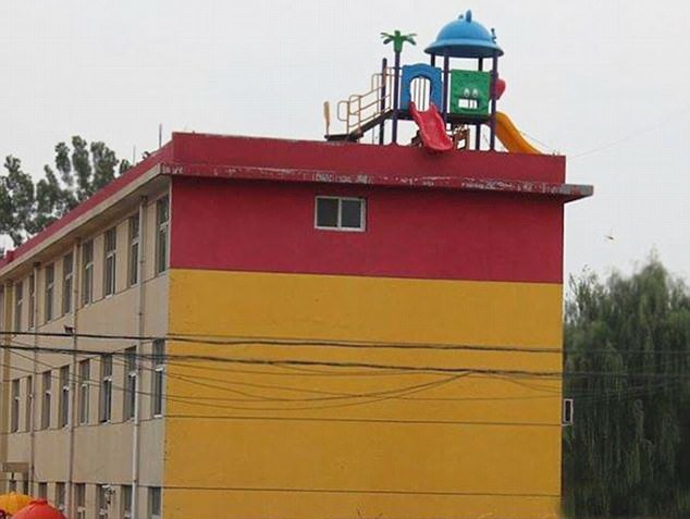 Who thought this was a sensible idea? No parent wants their child to go to a playground with a high risk of death attached