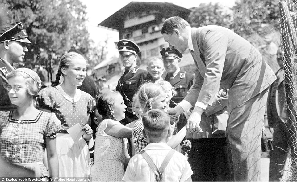 Image result for Pictures of Hitler with Children